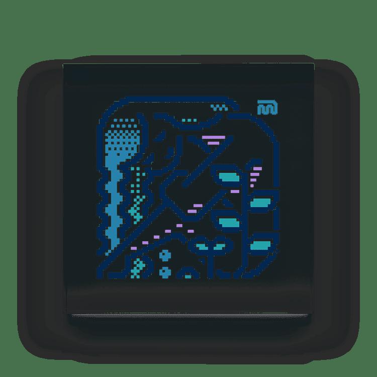 m7kenjiのアクリルブロック