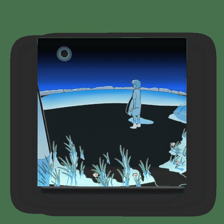 植田たてりのアクリルブロック