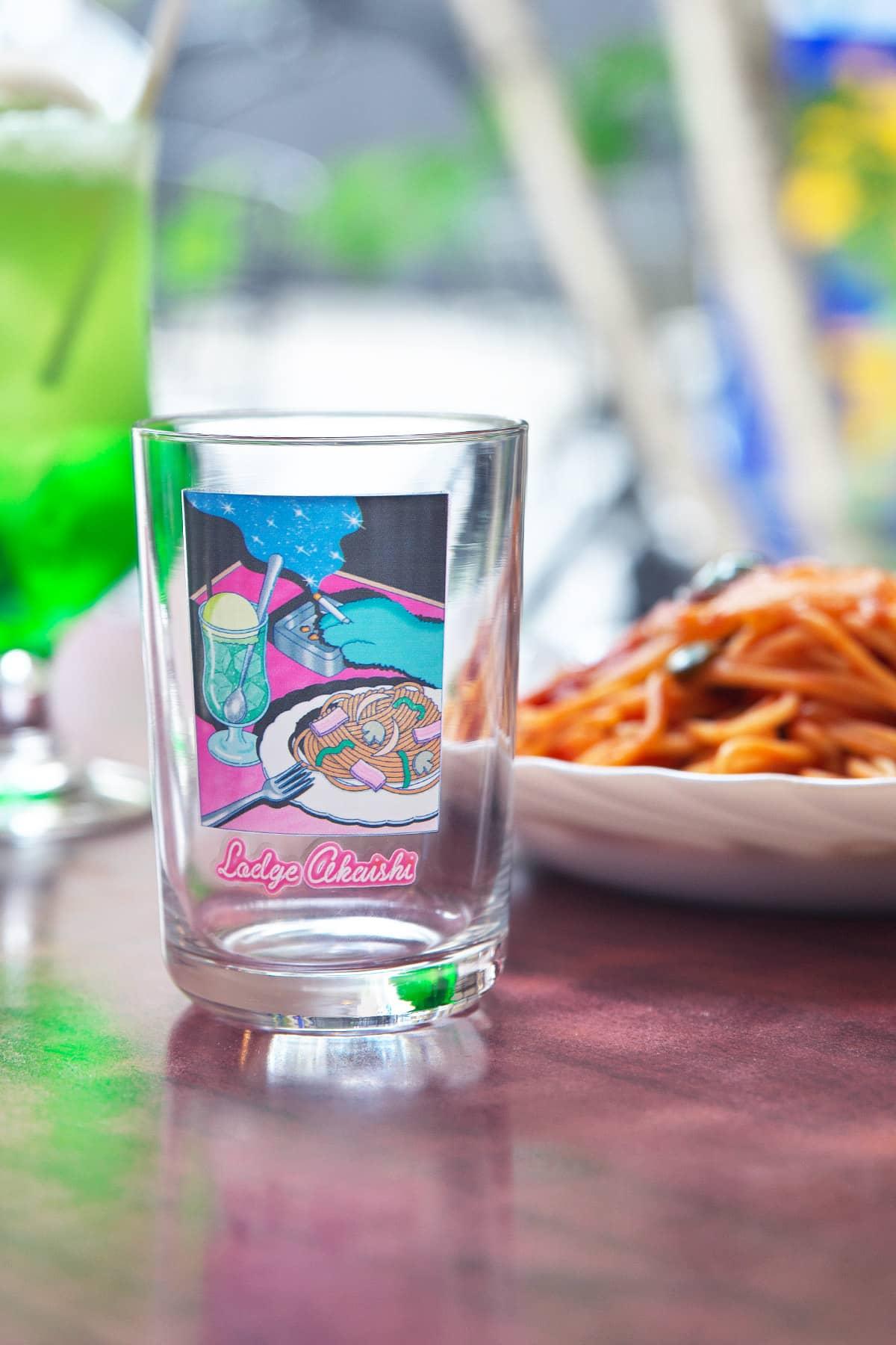 ナポリタン グラス/小雨そぉだ