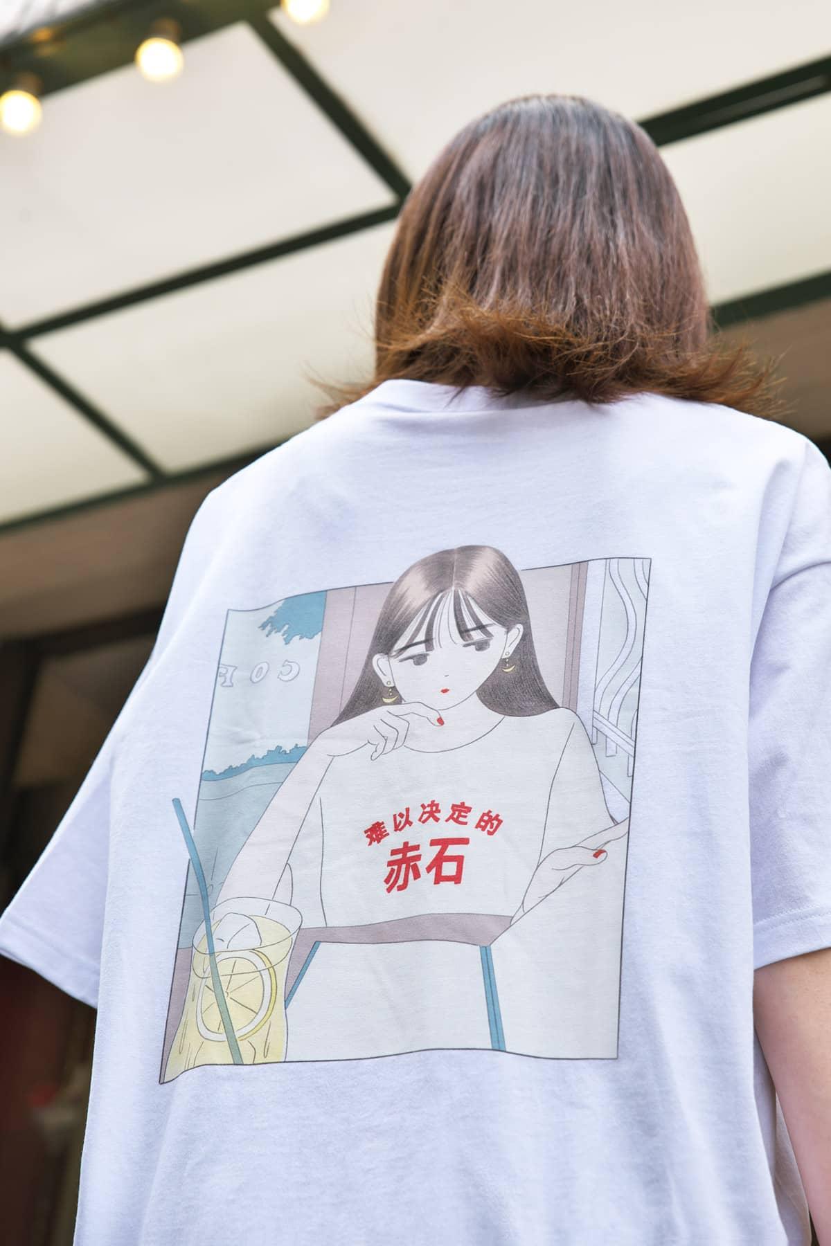 なかなか決められない ビッグシルエットTシャツ/深川優