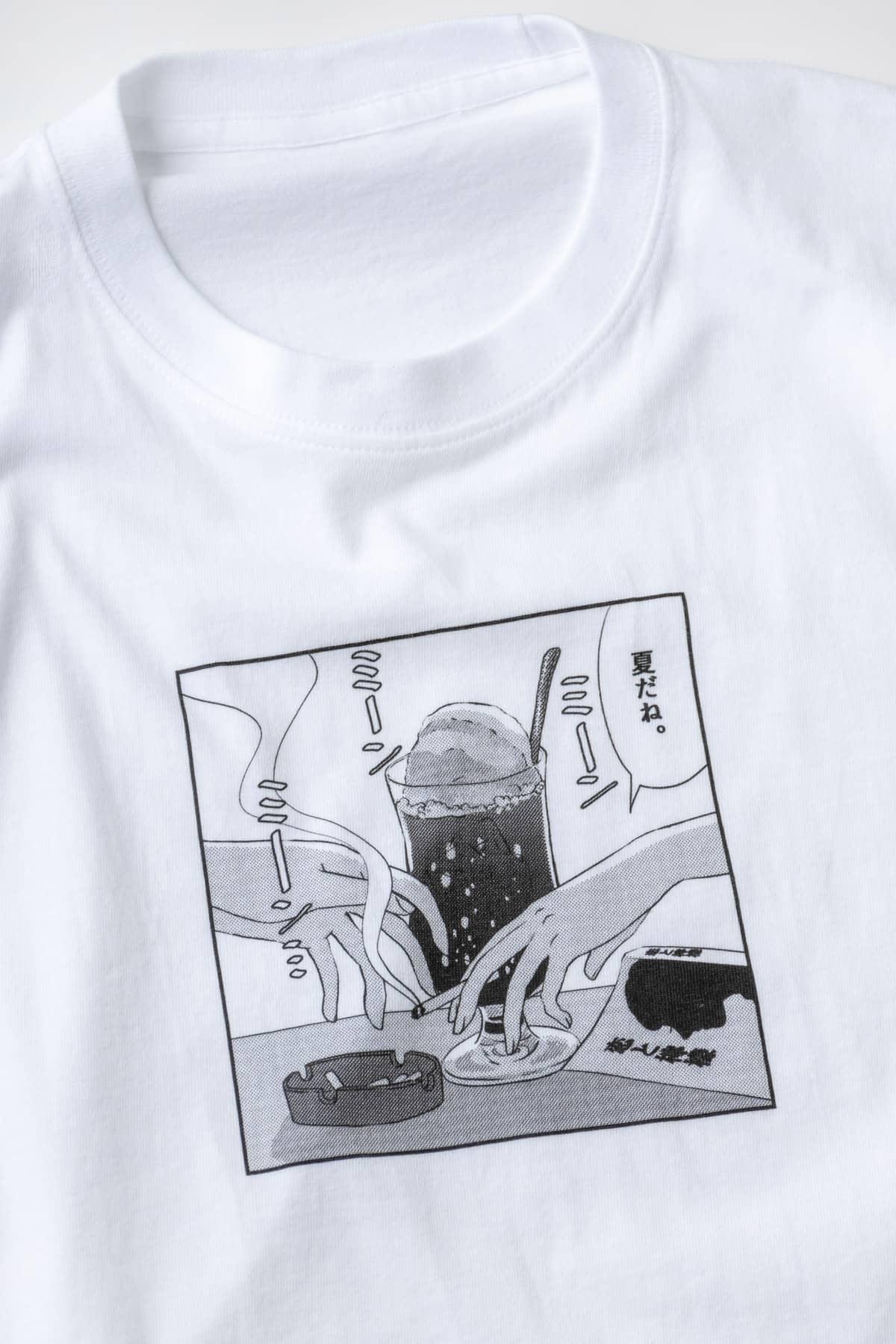 あの子の好きなクリームソーダ Tシャツ/ごめん